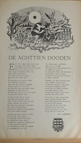 De achttien dooden (= The eighteen deaths): Campert, Jan