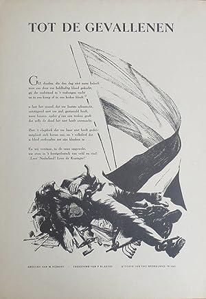 Tot de gevallenen (=To those who fell): Nijhoff, M.