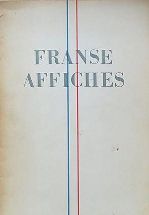 Franse affiches: Adhemar, Jean (intr.)
