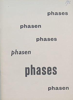 Phases, phasen: Alechinsky, Pierre et al.