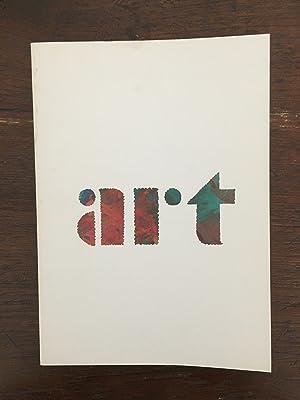Experimenta typografica / 5 L'art : le: Sandberg, Willem