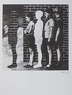 Untitled - Sjouke Heins Forma Aktua Kopperprent 1987: Heins, Sjouke