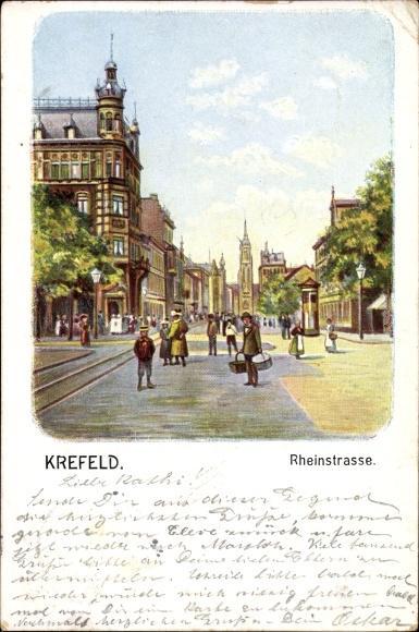 Künstler Krefeld künstler ansichtskarte krefeld niederrhein zvab