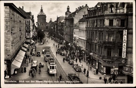 Ansichtskarte / Postkarte Mannheim Baden Württemberg, Neue