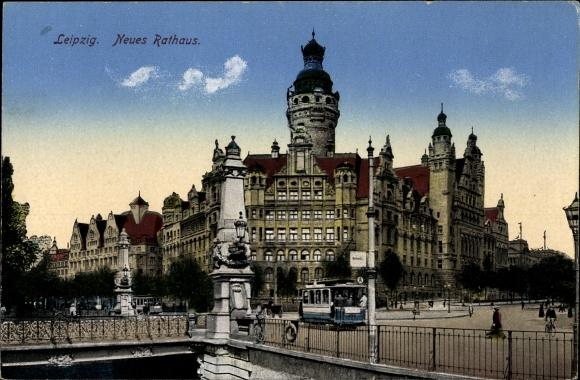 Ansichtskarte / Postkarte Leipzig in Sachsen, Neues