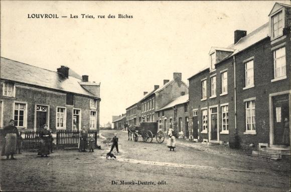 Ansichtskarte / Postkarte Louvroil Nord, Les Tries,