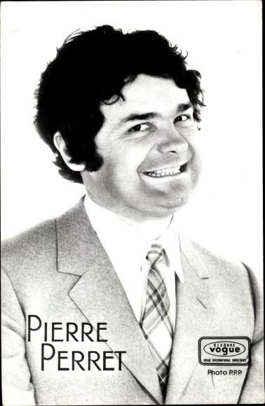 Ansichtskarte Postkarte Sanger Pierre Perret Portrait