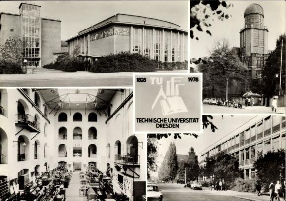 Ansichtskarte / Postkarte Dresden Süd Plauen, Technische