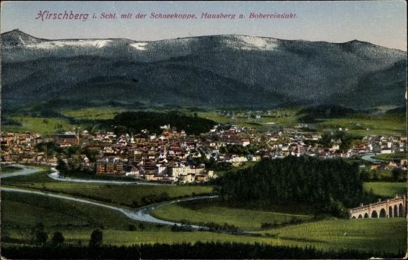 Ansichtskarte / Postkarte Jelenia Góra Hirschberg Riesengebirge