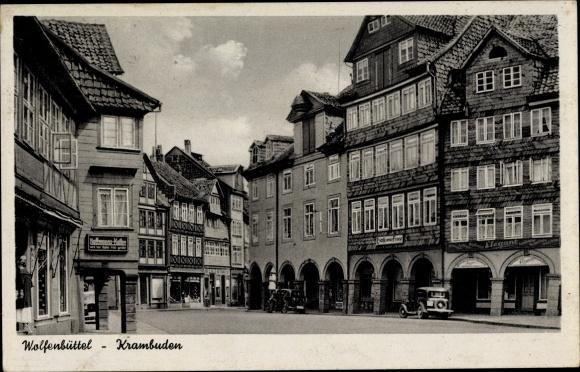 Ansichtskarte / Postkarte Wolfenbüttel in Niedersachsen, Partie