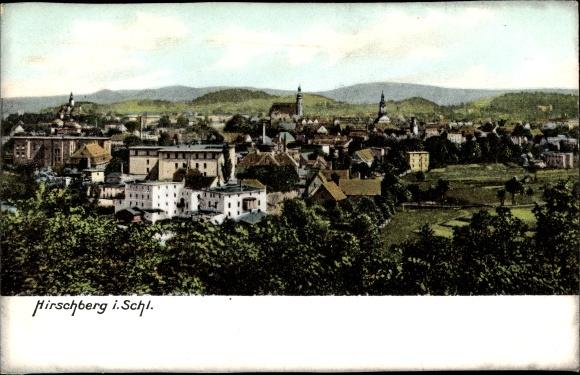 Ansichtskarte / Postkarte Jelenia Góra Hirschberg Schlesien,