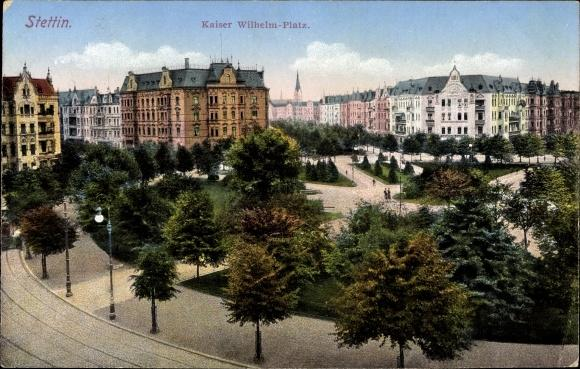 Ansichtskarte Postkarte Szczecin Stettin Pommern Kaiser Wilhelm