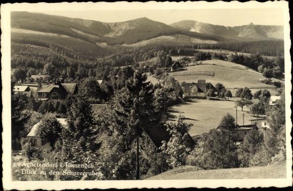 Ansichtskarte / Postkarte Agnetendorf Hirschberg Riesengebirge Schlesien,