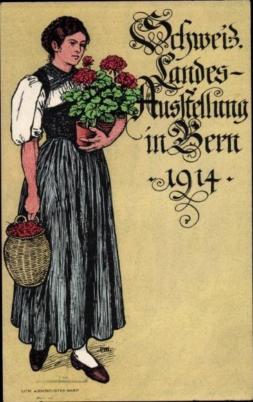Künstler Ansichtskarte / Postkarte Bern Stadt Schweiz,