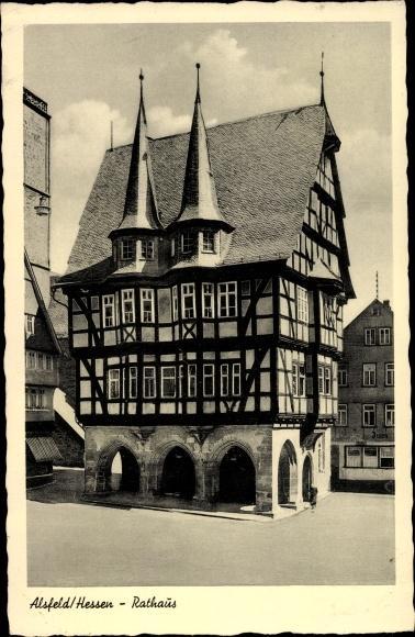 Ansichtskarte Alsfeld Hessen Zvab