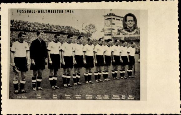 Ansichtskarte Postkarte Fussball