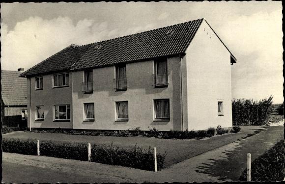 Ansichtskarte / Postkarte Büsum Kreis Dithmarschen, Pension Grapengießer