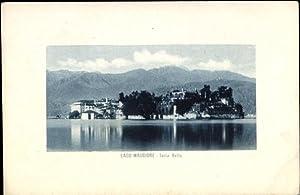 Ansichtskarte / Postkarte Isola Bella Lago Maggiore