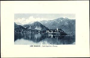 Ansichtskarte / Postkarte Isola Superiore Lago Maggiore