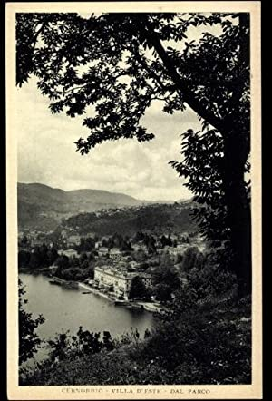 Ansichtskarte / Postkarte Cernobbio Lombardia, Villa d'Este,