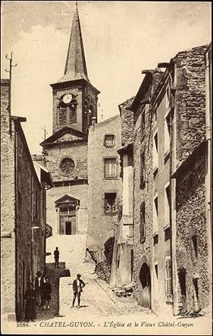 Ansichtskarte / Postkarte Chatel Guyon Puy de