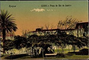 Ansichtskarte / Postkarte Lissabon Lisboa Portugal, Praca