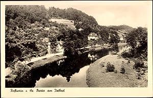 Ansichtskarte / Postkarte Roßwein Sachsen, Partie am