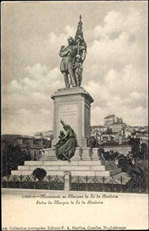 Ansichtskarte / Postkarte Lisboa Lissabon Portugal, Monumento