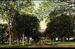 Ansichtskarte / Postkarte Williamstown Massachusetts USA, general