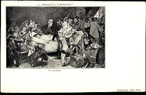 Künstler Ansichtskarte / Postkarte Darmanin, Mirallès, Un