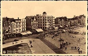 Ansichtskarte / Postkarte Knocke sur Mer Westflandern,