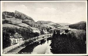 Ansichtskarte / Postkarte Roßwein in Sachsen, Kanalpartie
