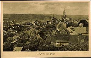 Ansichtskarte / Postkarte Roßwein, Blick auf den