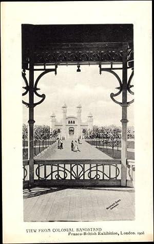 Ansichtskarte / Postkarte London, Franco British Exhibition
