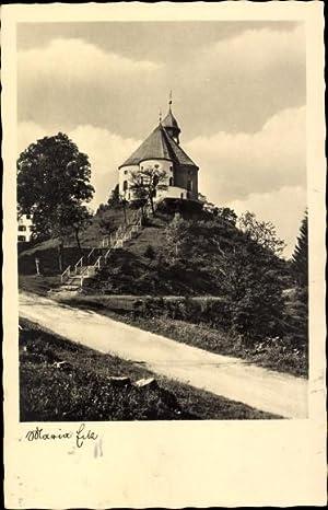 Ansichtskarte / Postkarte Siegsdorf Oberbayern, Blick auf