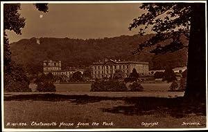 Ansichtskarte / Postkarte Derbyshire East Midlands, Chatsworth