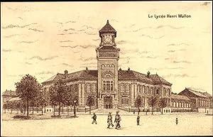 Künstler Ansichtskarte / Postkarte Valenciennes Nord, Le