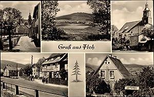 Ansichtskarte / Postkarte Floh Seligenthal Thüringen, Kirche,