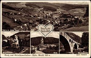 Ansichtskarte / Postkarte Kleinschmalkalden Floh Seligenthal Thüringer