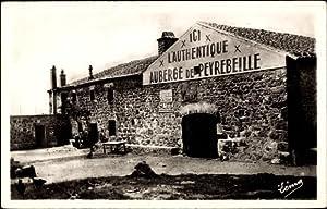 Ansichtskarte / Postkarte Peyrebeille Ardèche, L'Auberge Sanglante,