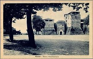 Ansichtskarte / Postkarte Rimini Emilia Romagna, Rocca