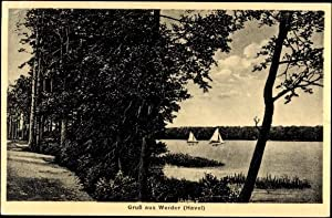 Ansichtskarte / Postkarte Werder an der Havel,