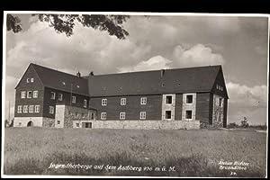 Ansichtskarte / Postkarte Klingenthal, Jugendherberge auf dem