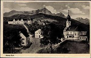 Ansichtskarte / Postkarte Maria Eck Siegsdorf im
