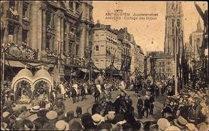 Ansichtskarte / Postkarte Antwerpen Flandern, Juweelenstoet, Stadtfest,