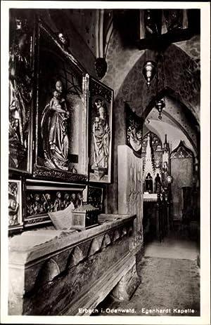 Ansichtskarte / Postkarte Erbach Odenwald, Innenansicht der