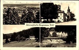 Ansichtskarte / Postkarte Langewiesen Thüringer Wald, Rathaus,