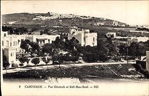 Ansichtskarte / Postkarte Carthage Tunesien, Vue Générale