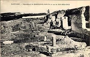 Ansichtskarte / Postkarte Carthage Tunesien, Dépendance de