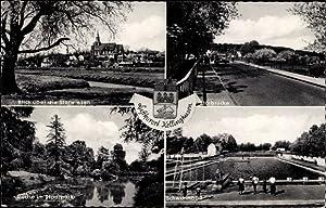 Ansichtskarte / Postkarte Kellinghusen, Luftkurort, Störwiesen, Störbrücke,